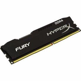 HyperX FURY 16GB 1X16GB Memory Module DDR4 2133MHz PC3-17000