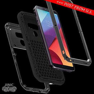 Shockproof Metal Bumper Armor Case Cover for LG G6 LS993 AS993 VS998 B/G/P/T/W