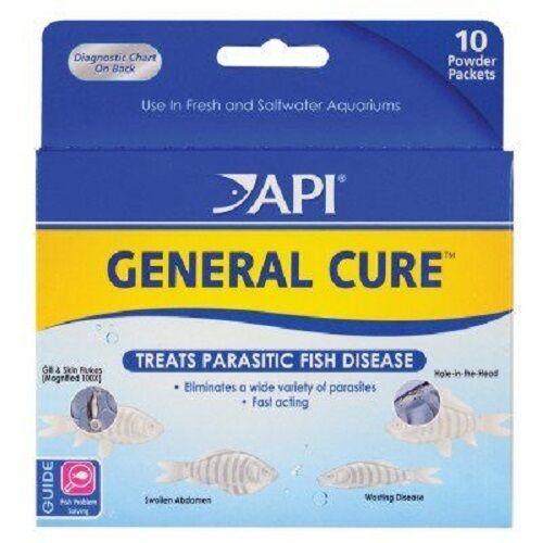 General Cure Anti-Parasite for Aquarium Fish API  FREE SHIPPING