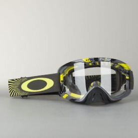 New Adult Oakley O Frame 2 Tear Off Goggles Motocross Enduro RPM GUNMETAL GREEN