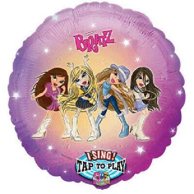 BRATZ DOLLS SINGING FOIL MYLAR BALLOON ~ Birthday Party Supplies Decoration - Singing Balloon