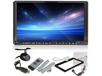 "7"" Inch 2Din Touch Screen Radio Stereo, DVD,Bluetooth 2 Din - No Sat Nav"