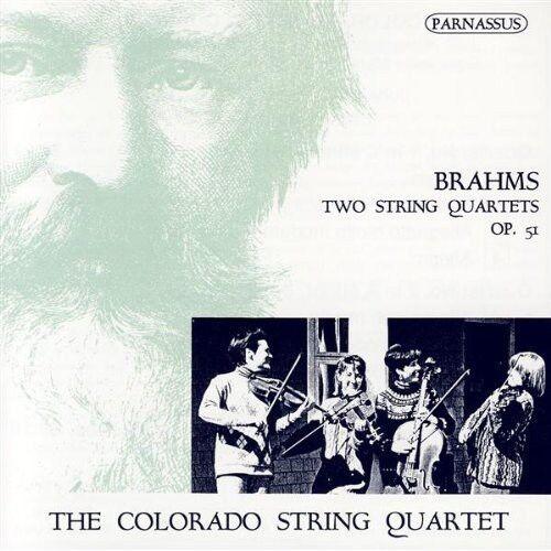 Colorado String Quar - String Quartets 1 in C Op 51 1 / 2 in a Op 51 2 [New CD]