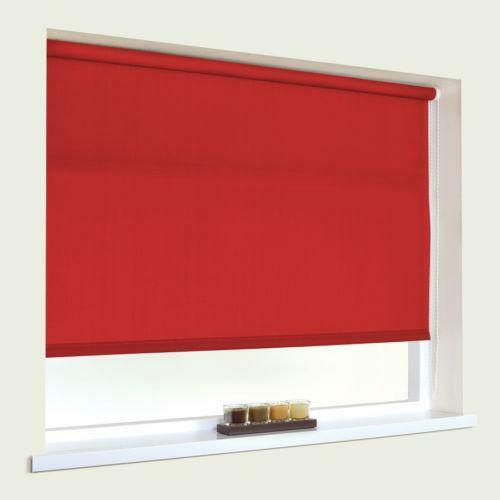 Red Roller Blind Ebay