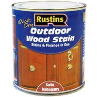 Rustins Quick Dry Outdoor Wood Stain Mahogany - 250ml - rustins - ebay.co.uk