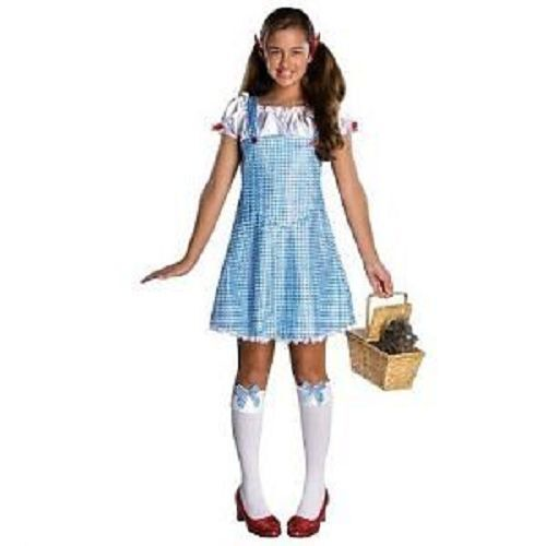 Wizard of Oz Dorothy Costume Juniors Small 3-5