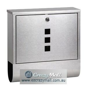 Wall Mount Stainless Steel Mail Box Letterbox Sydney City Inner Sydney Preview