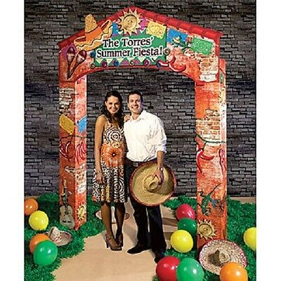 PERSONALIZED FIESTA ARCH * Mexican fiesta party decor * photo opp. *