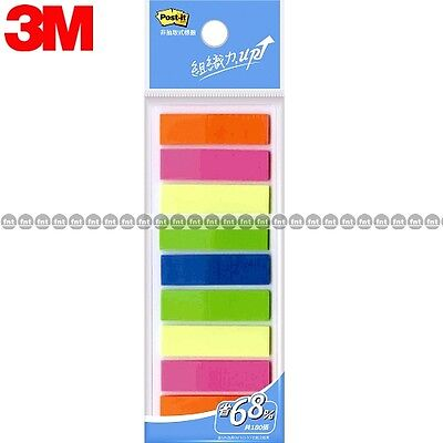 3m Post-it Flags 583-9 9 Colors Bookmark Point Sticky Note Plastic Paper Index