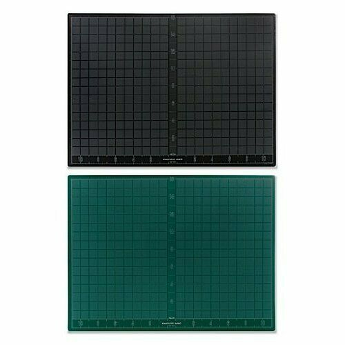 PACIFIC ARC GB1824 CUTTING MAT 18X24 BLACK / GREEN SELF HEALING