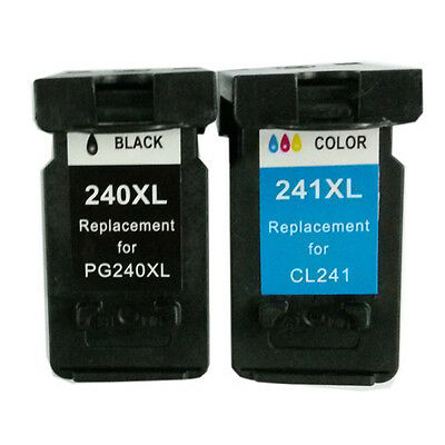 Ink Cartridge For Canon Pg-240xl(black)/cl-241xl(color)us...
