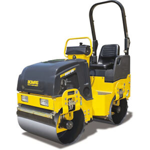 Ride on Roller/Compactor Required
