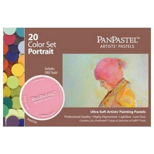 ARMADILLO ART & CRAFT 30203 PANPASTEL SET 20 COLOR PORTRAIT