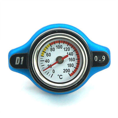 THERMOSTATIC GAUGE RADIATOR CAP 09 BAR HONDA KAWASAKI MOTOCROSS SUZUK