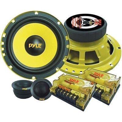 Car Audio Package Component System Bass Speakers Kit 6.5Inch Bass Music Receiver Car Audio System Packages