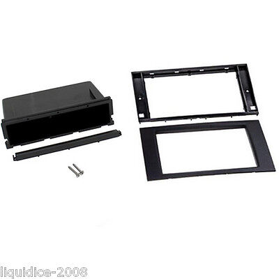 CT24FD54 ACURA ALL MODELS 2008 to 2012 BLACK SINGLE DIN FASCIA ADAPTER  POCKET