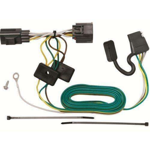 Jeep wrangler trailer wiring harness ebay