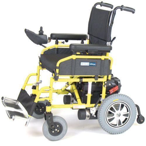 Folding Power Wheelchair Ebay