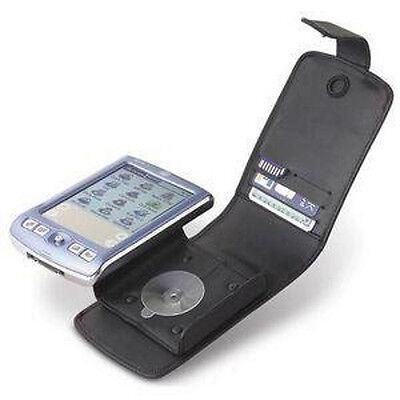 Belkin Leather Flip Case for Palm Zire 71 Series PDA Card SD Slot Belt Clip (Belkin Leather Pda Case)