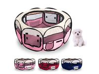 Fabric Puppy Play Pen (Pink)