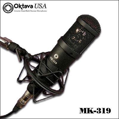 Oktava MK-319 - Pro Vocal Recording Mic + Shock Mount - New - LOW BEST OFFER