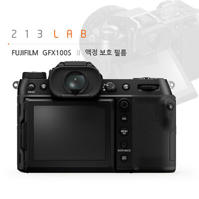 LCD Protection Film for Fujifilm GFX100S (by 213LAB)