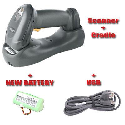 Motorola Symbol DS6878 & Cradle Wireless 2D Barcode Scanner BlueTooth + New Batt