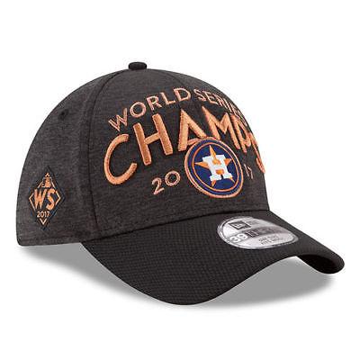 Houston Astros MLB 2017 World Series Champions Locker Room 39Thirty Headwear