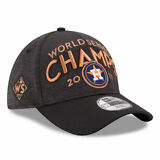 Houston Astros MLB 2017 World Series Champions Locker Room 39Thirty Headwear