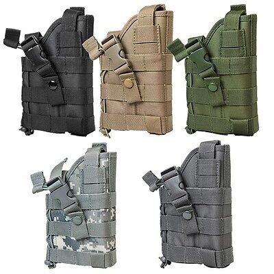 - NcSTAR Tactical Ambidextrous MOLLE Adjustable Military Pistol Hand Gun Holster