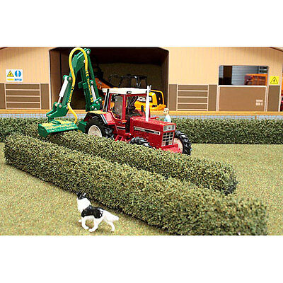 BRUSHWOOD BT2073 Scalextric Hedges (2x) - 1:32 Farm Toys