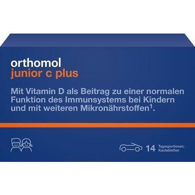 Orthomol Junior C Plus, 14 Porciones Diarias, Tabletas Masticables 10013245