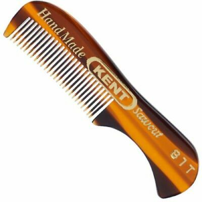 Mens Kent 81T Finest Fine Toothed Moustache Mo Tash Beard Small Styling Comb