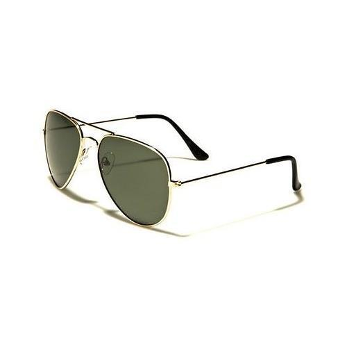 Gold Polarized Sunglasses Driving Aviator