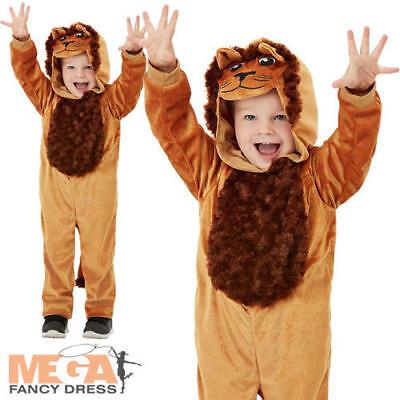 Lion Kids Fancy Dress Wild Cat Animal World Book Day Boys Girls Toddlers - Wild Cat Girl Kostüm