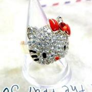 Hello Kitty Rings Free Shipping