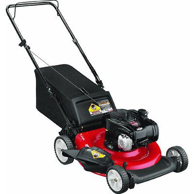 "Yard Machines 159cc Gas 21"" 3-in-1 Push Mower(CARB) 11A-A22J700 NEW"