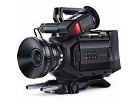 URSA Mini 4K Digital Cinema Camera Super-35mm 4K, global-shutter sensor12 stops of dynamic range.