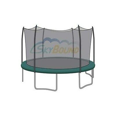15'' Trampoline Net FITS 6 Straight Curved Pole FITS Skywalk