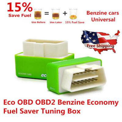 - Universal OBD2 Eco OBD2 Economy Fuel Saver Tuning Box Chip For Petrol Gas Green