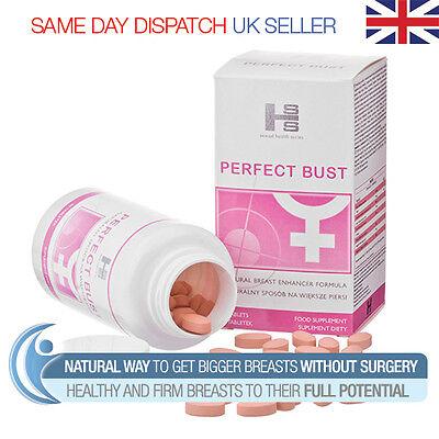 Perfect Bust 90 Pills - Bigger Breast Firmer Larger Boobs Enhancement Enlarge
