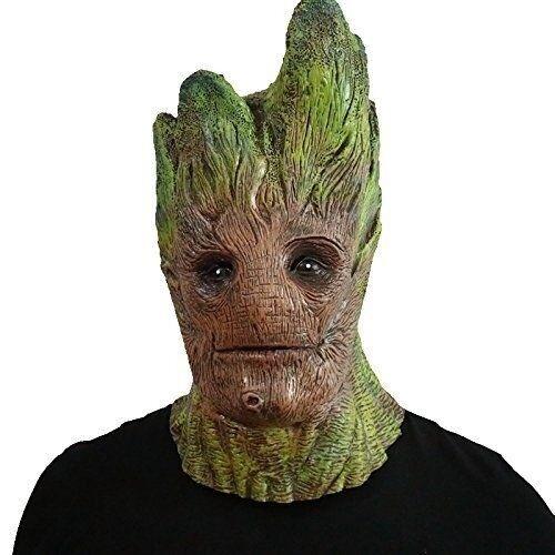 Groot Man Mask Latex Mask Cosplay Treeman Costume Cosplay Mask Original Custom