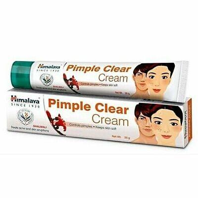 Himalaya Herbals Pimple Clear Cream,Spots,Black Head,Blemish Treatment 20gm