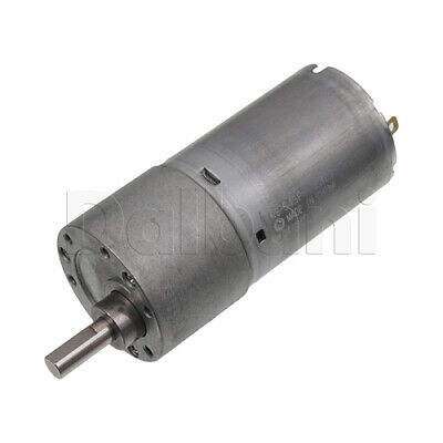 Dc Gear Motor High Torque 37gb 12v 10rpm Long For Diy Robotics Arduino