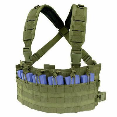 NEU US CHEST RIG MOLLE EXPANDABLE Einsatzweste Tactical Weste BW Modular System