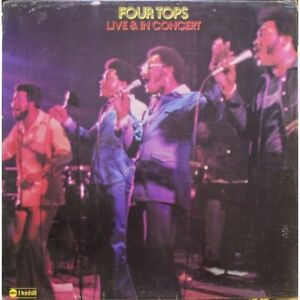 Four Tops - Live & In Concert Vinyl Record LP - SEALED!
