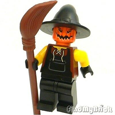 M601 Lego Halloween Zombie Monster Pumpkin Scarecrow Custom Minifigure NEW
