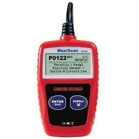 AUTEL MAXISCAN ms309 CAN OBDII CODE READER AND DELETE ENGINE LIGHT