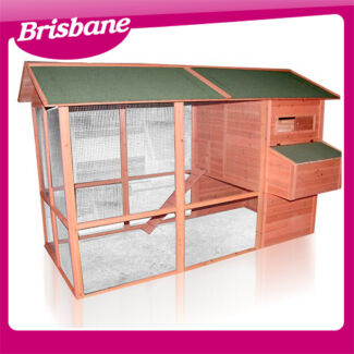 Extra Large Chicken coop with Run 8068L QLD Eagle Farm Brisbane North East Preview