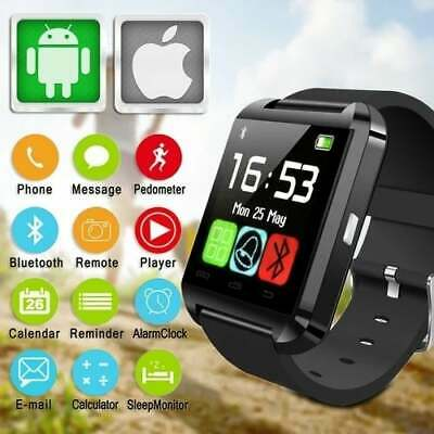 Black U8s Smart Watch with Bluetooth Touch Screen TFT LCD for iPhone & Android, usado comprar usado  Enviando para Brazil